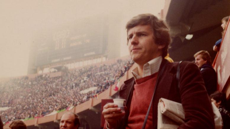 Raluli Virtanen Buenos Aireksissa v. 1978 Maailman jalkapallo ottelussa.